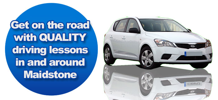 get driving lessons Maidstone with Maidstone Driving School